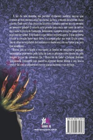 Livro 7 histórias de gelar o sangue