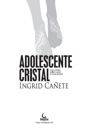 Livro Adolescente Cristal - como entender, acolher e apoiar as novas gerações