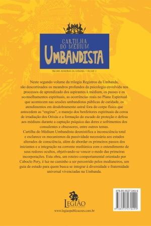 Livro Cartilha do médium umbandista