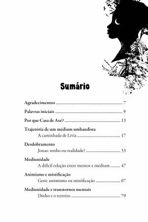 Livro  Casa de axé - lições da Umbanda