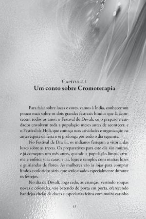 Livro Cromofluidoterapia - toques quânticos das luzes e cores