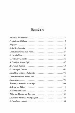 Livro Ecos de Aruanda - contos de Umbanda