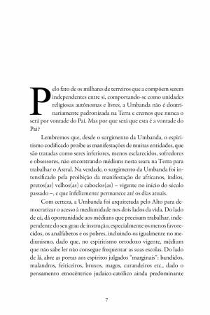 Livro Encantos de Umbanda