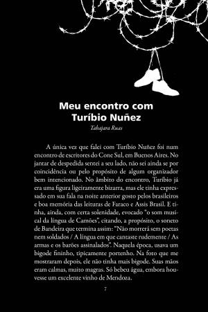Livro Notas sobre Turibio Núñez, escritor caído