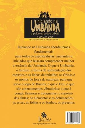 Livro Iniciando na Umbanda: a psicologia dos Orixás e dos cristais