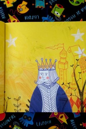 Livro O rei roncador