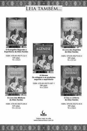 Livro Obras Póstumas de Allan Kardec